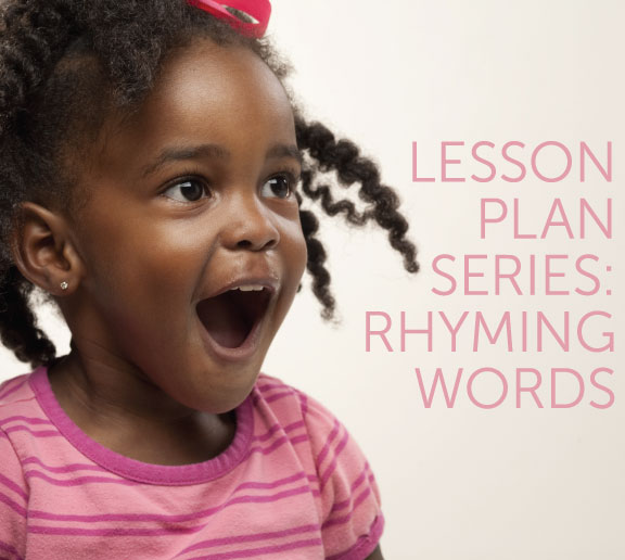 Rhyming Words Lesson Plan Idea
