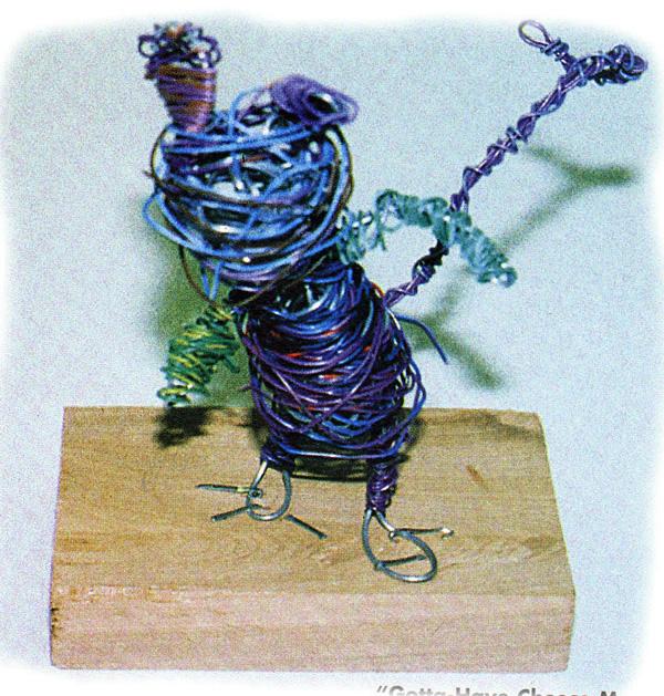 Wire Sculpture For Kids Inspired By Alexander Calder