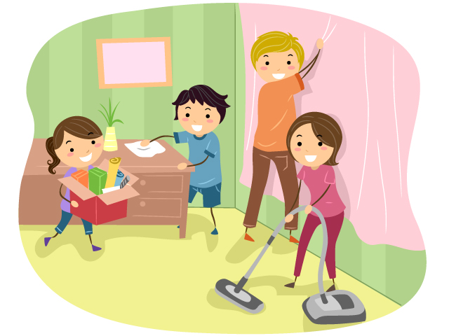 kids cleaning classroom clip art wwwimgkidcom the