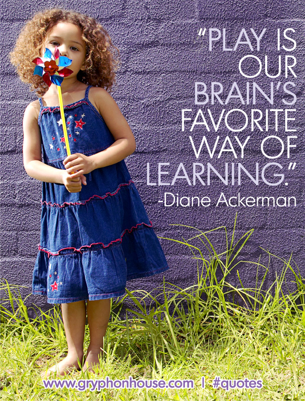 Quote of the Week  Diane Ackerman  Play
