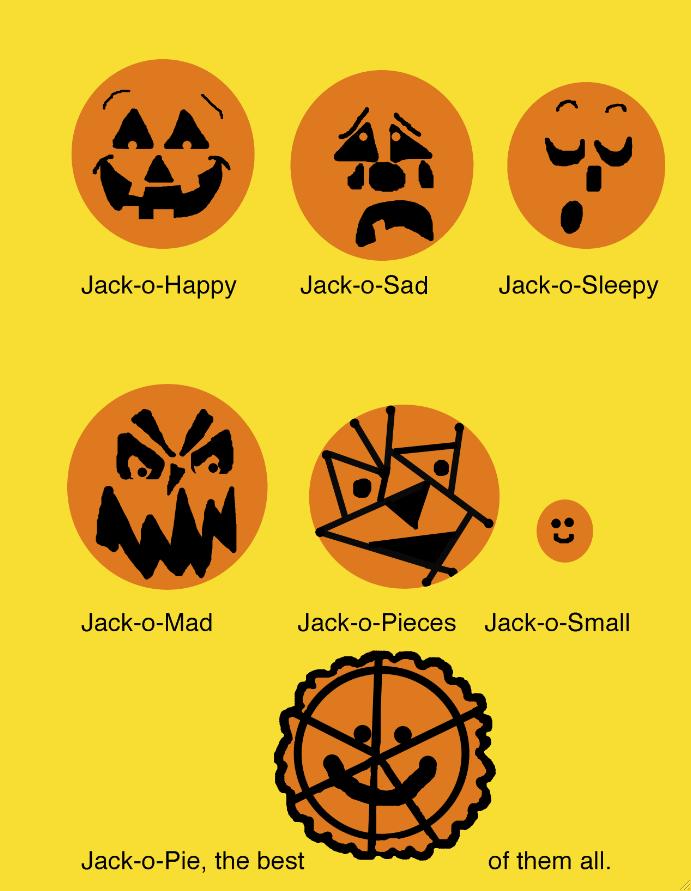 Jack-o-Pie Poem & Activities