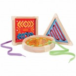 Geo Lacing Shapes (Set of 3)