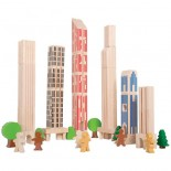 Big City Building Blocks (Set of 36)