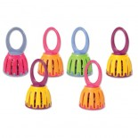 Cage Bells (Set of 6)