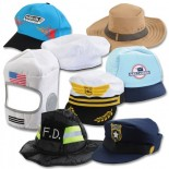 Community Helper Hat Collection (Set of 8)