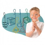 FEWW® Geometric Bubble Wands (Set of 7)