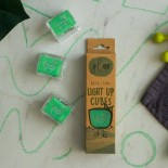 Glo Pals Light Up Water Cubes: Green