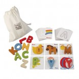 Eco-Friendly Letter Match Set