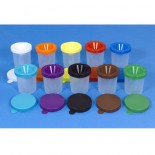 Paint Pots (Set Of 10 Without Brushes)