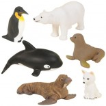 Polar Animals Set (Set of 6)