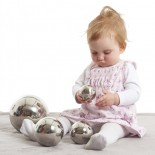 Sensory Reflective Balls (Set of 4)