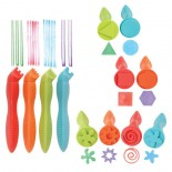 Easy-Grip Stampers and Pattern Makers (Set of 12)