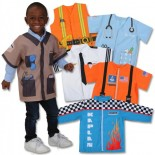 When I Grow Up Career Set (6 Polyester Dramatic Play Costumes)