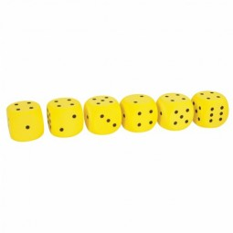 "2"" Foam Dice (6 Piece Set)"