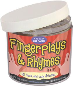 Fingerplays & Rhymes In a Jar®