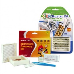STEM Starter Kit, Slides, & Microscope Accessories