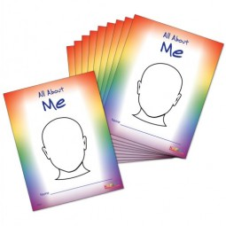 All About Me Journals (Set of 10)