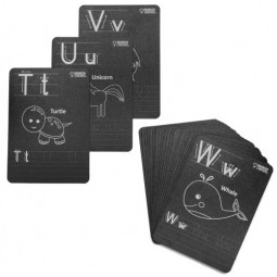 Chalkboard Flash Cards Set: Alphabet