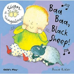 Baby Signing Board Books: Baa, Baa, Black Sheep