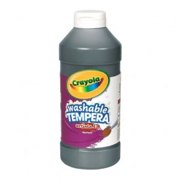 Crayola® Artista ll Washable Tempera Paint (16 oz): Black