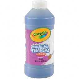 Crayola® Artista ll Washable Tempera Paint (16 oz): Blue