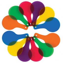 Color Paddle Set - Set of 12