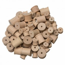 Wooden Craft Spools