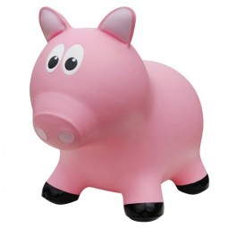 Farm Hoppers® Inflatable Bouncing Pink Pig