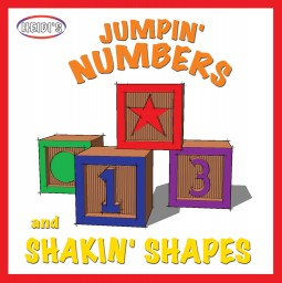 Jumpin' Numbers and Shakin' Shapes CD