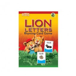 LION LETTERS: Rhyming Card Game