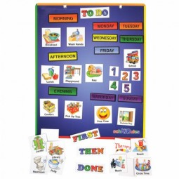 Magnetic Schedule Board and Accessories