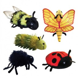Mini Bugs Finger Puppets (Set of 5)