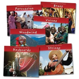 Instruments and Music from Around the World - Paperback (Set of 6)