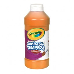 Crayola® Artista ll Washable Tempera Paint (16 oz): Orange