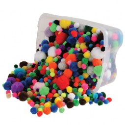 Pom Poms Value Tub