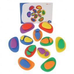 Rainbow Pebbles (36 Pieces)