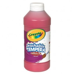 Crayola® Artista ll Washable Tempera Paint (16 oz): Red