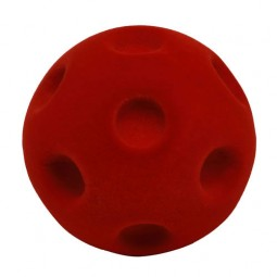 "Rubbabu™ 6"" Crater Ball - Red"