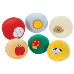 Soft-Color Ball (Set of 6)