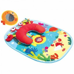 Tummy Time Fun Under the Sea Pillow & Mat