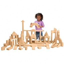 Unit Blocks Basic Classroom Set 2 (200 pieces, 28 shapes)