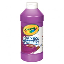 Crayola® Artista ll Washable Tempera Paint (16 oz): Violet