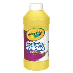 Crayola® Artista ll Washable Tempera Paint (16 oz): Yellow