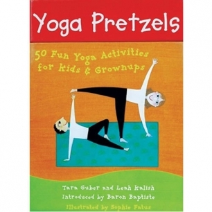 Yoga Pretzels: 50 Fun Yoga Activities for Kids & Grownups (Card Deck)