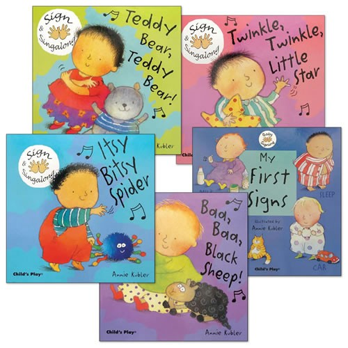 Baby Signing Board Books (Set of 5)