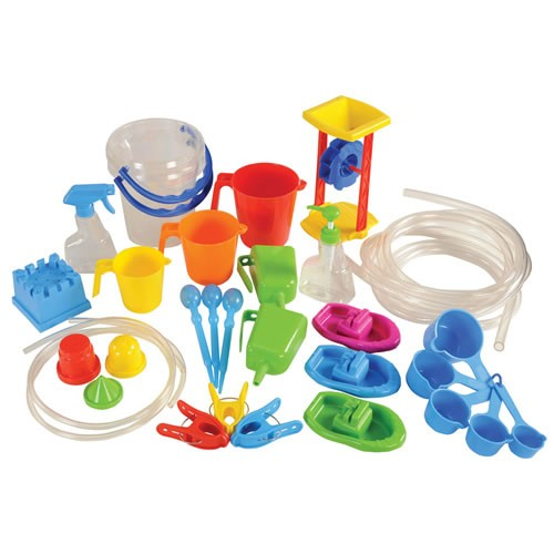 Classroom Water Play Set (35 Pieces)