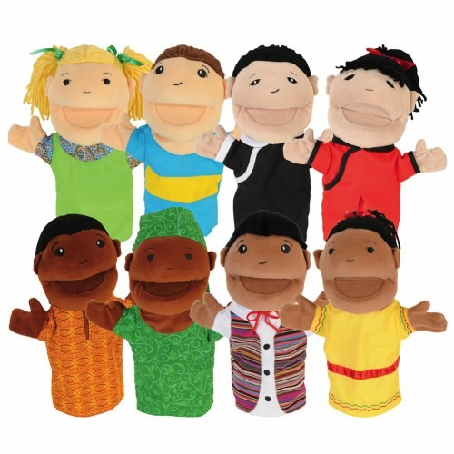 Diversity Puppet Set (Set of 8)