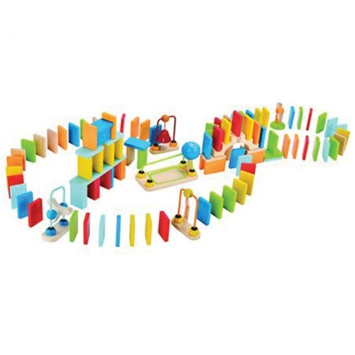Dynamo Dominoes Construction Set (107 Pieces)