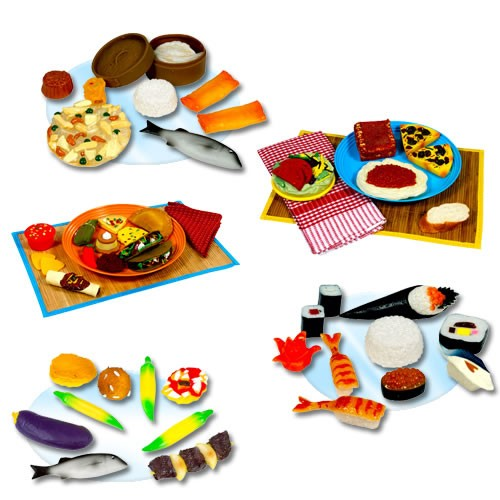 International Food Collection (Set of 5)