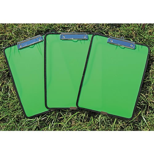 Flexible Clipboard with Pocket Set of 3